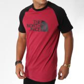 /achat-t-shirts/the-north-face-tee-shirt-raglan-easy-bordeaux-noir-150760.html