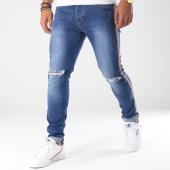 /achat-jeans/aarhon-jean-slim-troue-avec-bandes-a108-bleu-denim-150895.html