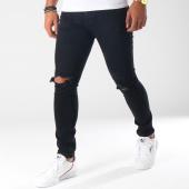 /achat-jeans/aarhon-jean-slim-troue-a115-noir-150897.html