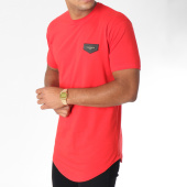 /achat-t-shirts-longs-oversize/gianni-kavanagh-tee-shirt-oversize-gold-collection-rouge-150903.html
