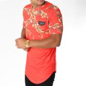 /achat-t-shirts-longs-oversize/gianni-kavanagh-tee-shirt-oversize-degrade-summer-baroque-rouge-renaissance-150925.html