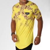 /achat-t-shirts-longs-oversize/gianni-kavanagh-tee-shirt-oversize-degrade-summer-baroque-jaune-renaissance-150928.html