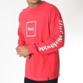 /achat-t-shirts-manches-longues/huf-tee-shirt-manches-longues-domestic-rouge-150791.html
