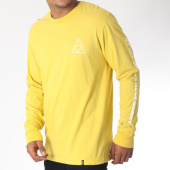 /achat-t-shirts-manches-longues/huf--tee-shirt-manches-longues-essentials-jaune-150811.html