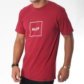 /achat-t-shirts/huf-tee-shirt-essentials-box-logo-bordeaux-150826.html