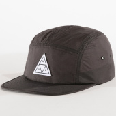 /achat-5-panel/huf-casquette-5-panel-cinch-volley-gris-anthracite-150859.html
