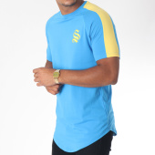 /achat-t-shirts-longs-oversize/sinners-attire-tee-shirt-oversize-avec-bande-stripe-core-629-bleu-clair-jaune-150819.html
