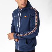 /achat-sweats-zippes-capuche/ellesse-sweat-zippe-capuche-avec-bandes-1032-bleu-marine-150977.html