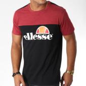 /achat-t-shirts/ellesse-tee-shirt-1031-bicolore-bordeaux-noir-150995.html