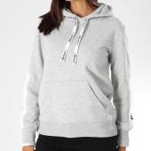 /achat-sweats-capuche/ellesse-sweat-capuche-femme-bicolore-2-gris-chine-blanc-151037.html