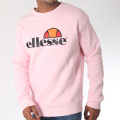 /achat-sweats-col-rond-crewneck/ellesse-sweat-crewneck-1032n-rose-151060.html