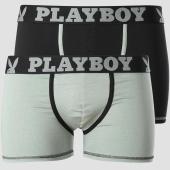 /achat-boxers/playboy-lot-de-2-boxers-classic-cool-noir-vert-kaki-151079.html