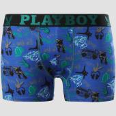 /achat-boxers/playboy-boxer-lifestyle-bleu-marine-noir-vert-151087.html