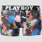 /achat-boxers/playboy-boxer-tropical-noir-bleu-marine-blanc-151090.html