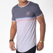 /achat-t-shirts-longs-oversize/siksilk-tee-shirt-oversize-curved-hem-poly-sports-gris-150974.html