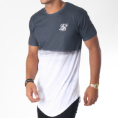 /achat-t-shirts-longs-oversize/siksilk-tee-shirt-oversize-curved-hem-wash-out-noir-blanc-150992.html