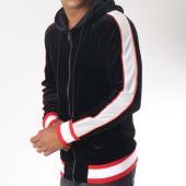 /achat-sweats-zippes-capuche/terance-kole-sweat-zippe-capuche-velours-98160-noir-blanc-rouge-151074.html