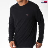 /achat-t-shirts-manches-longues/tommy-hilfiger-jeans-tee-shirt-manches-longues-classics-5095-noir-151006.html