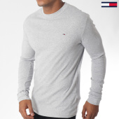/achat-t-shirts-manches-longues/tommy-hilfiger-jeans-tee-shirt-manches-longues-rib-5089-gris-chine-151033.html