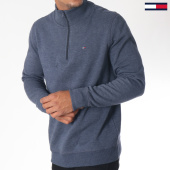 /achat-sweats-col-zippe/tommy-hilfiger-jeans-sweat-essential-5162-bleu-marine-chine-151041.html