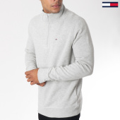 /achat-sweats-col-zippe/tommy-hilfiger-jeans--sweat-essential-5162-gris-chine-151045.html