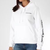 /achat-sweats-capuche/calvin-klein-sweat-capuche-femme-institutional-8908-blanc-noir-151340.html