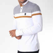 /achat-polos-manches-longues/classic-series-polo-manches-longues-8513-blanc-camel-gris-chine-151234.html