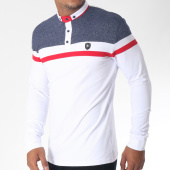 /achat-polos-manches-longues/classic-series-polo-manches-longues-8513-blanc-rouge-bleu-marine-chine-151235.html