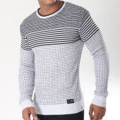/achat-pulls/classic-series-pull-5949-blanc-noir-151259.html