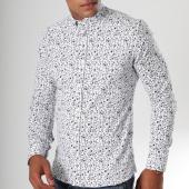/achat-chemises-manches-longues/classic-series-chemise-manches-longues-16373-blanc-noir-floral-151274.html