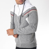 /achat-sweats-zippes-capuche/classic-series-sweat-zippee-capuche-8490-gris-chine-blanc-151281.html