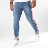 /achat-jeans/grj-denim-jean-skinny-avec-bandes-13212-bleu-denim-151491.html