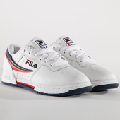 /achat-baskets-basses/fila-baskets-femme-original-fitness-1010484-150-white-navy-red-151359.html