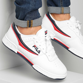 /achat-baskets-basses/fila-baskets-original-fitness-1010492-150-white-navy-red-151460.html
