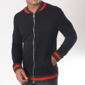 /achat-vestes/ikao-veste-zippee-f216-noir-vert-rouge-151411.html