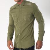 /achat-chemises-manches-longues/ikao-chemise-manches-longues-f188-vert-kaki-151438.html