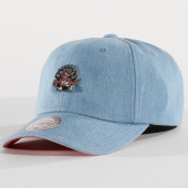 /achat-casquettes-de-baseball/mitchell-and-ness-casquette-denim-pin-toronto-aptors-bleu-clair-151367.html