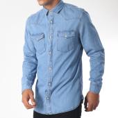 /achat-chemises-manches-longues/produkt-chemise-manches-longues-next-western-bleu-denim-151381.html