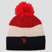 /achat-bonnets/us-polo-assn-bonnet-tricolor-logo-bleu-marine-blanc-rouge-151483.html