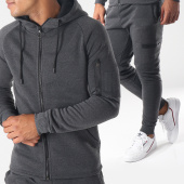 /achat-ensembles-survetement/aarhon-ensemble-de-survetement-aj118-gris-anthracite-chine-151588.html