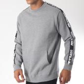 /achat-sweats-col-rond-crewneck/supra-sweat-crewneck-avec-bandes-streeter-gris-chine-151697.html
