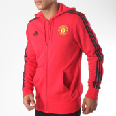 /achat-sweats-zippes-capuche/adidas-sweat-zippe-capuche-manchester-united-3-striped-d9565-rouge-151804.html