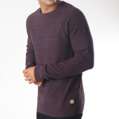 /achat-pulls/blend-pull-20706602-bordeaux-gris-anthracite-chine-151836.html