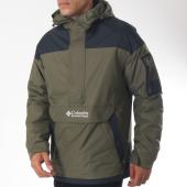 /achat-vestes/columbia-veste-outdoor-poche-bomber-challenger-vert-kaki-noir-151762.html