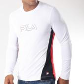 /achat-t-shirts-manches-longues/fila-tee-shirt-manches-longues-de-sport-pearce-682088-blanc-noir-rouge-151847.html