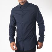 /achat-chemises-manches-longues/g-star-chemise-manches-longues-core-d03691-7085-bleu-marine-151848.html