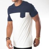 /achat-t-shirts-poche/celio-tee-shirt-poche-metrik-ecru-bleu-marine-152023.html