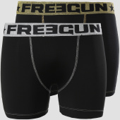 /achat-boxers/freegun-lots-de-2-boxers-shiny-metal-noir-dore-argente-151956.html