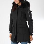 /achat-parkas/hechbone-parka-fourrure-femme-poche-bomber-best-noir-noir-151921.html