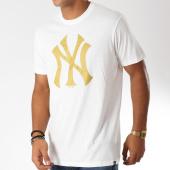 /achat-t-shirts/47-brand-tee-shirt-new-york-yankees-408754-blanc-dore-152235.html